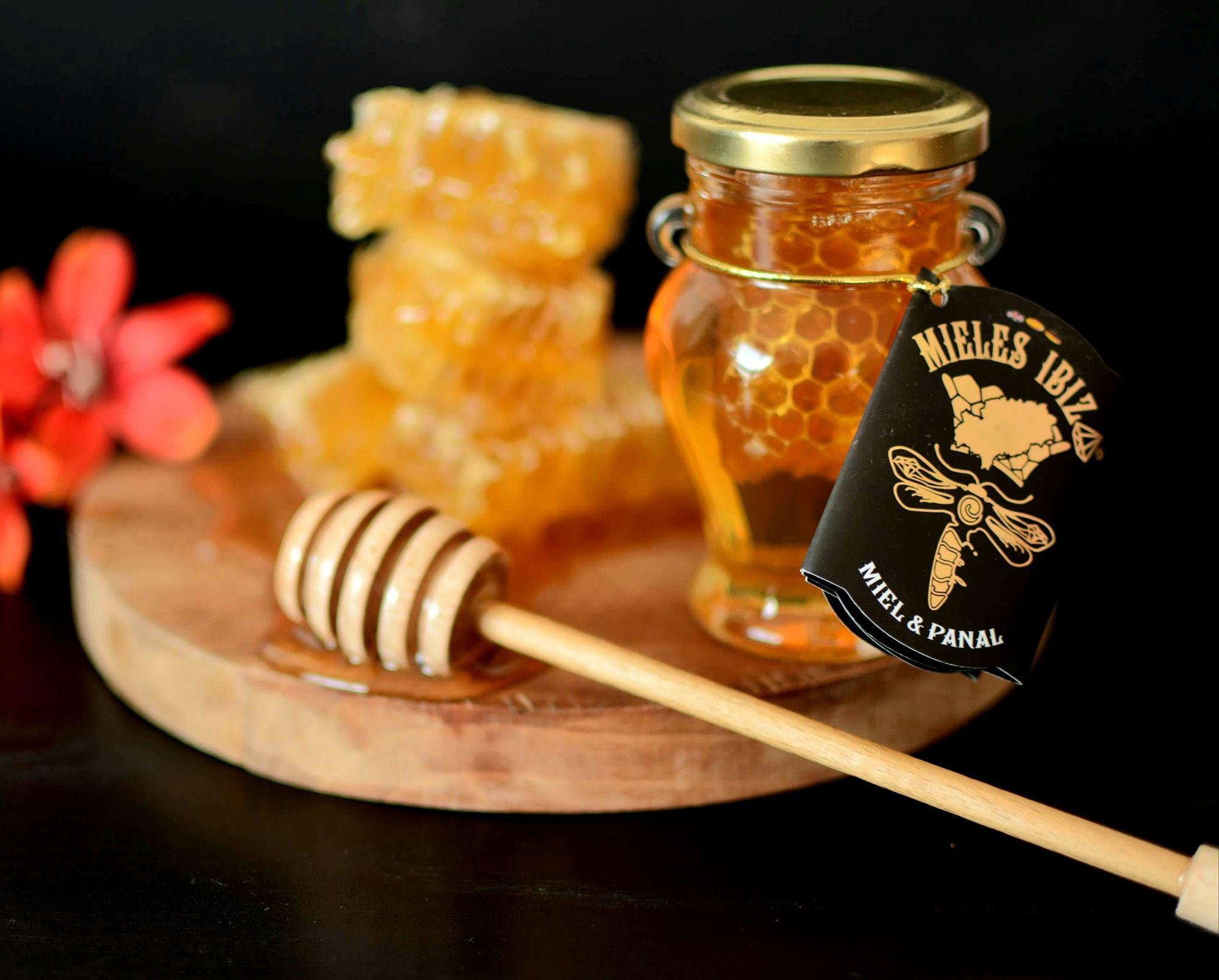 Miel de Ibiza con Anfora Panal