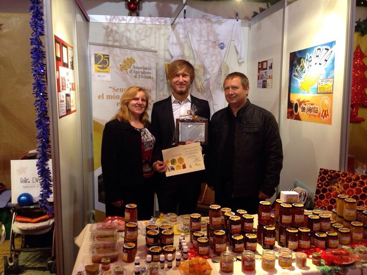 Ganador del Primer premio de la mejor miel de la isla de Ibiza